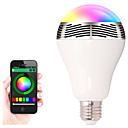 رخيصةأون Smart Lights-bl05 led rgb لون بصيلة خفيف e27 bluetooth تحكم سمعيّ متكلم بصريّ مصباح مصابيح futural رقمي