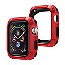 رخيصةأون حالات ساعة ذكية-حافظات من أجل أبل ووتش سلسلة 5 / Apple Watch Series 4 TPU / بلاستيك التوافق Apple