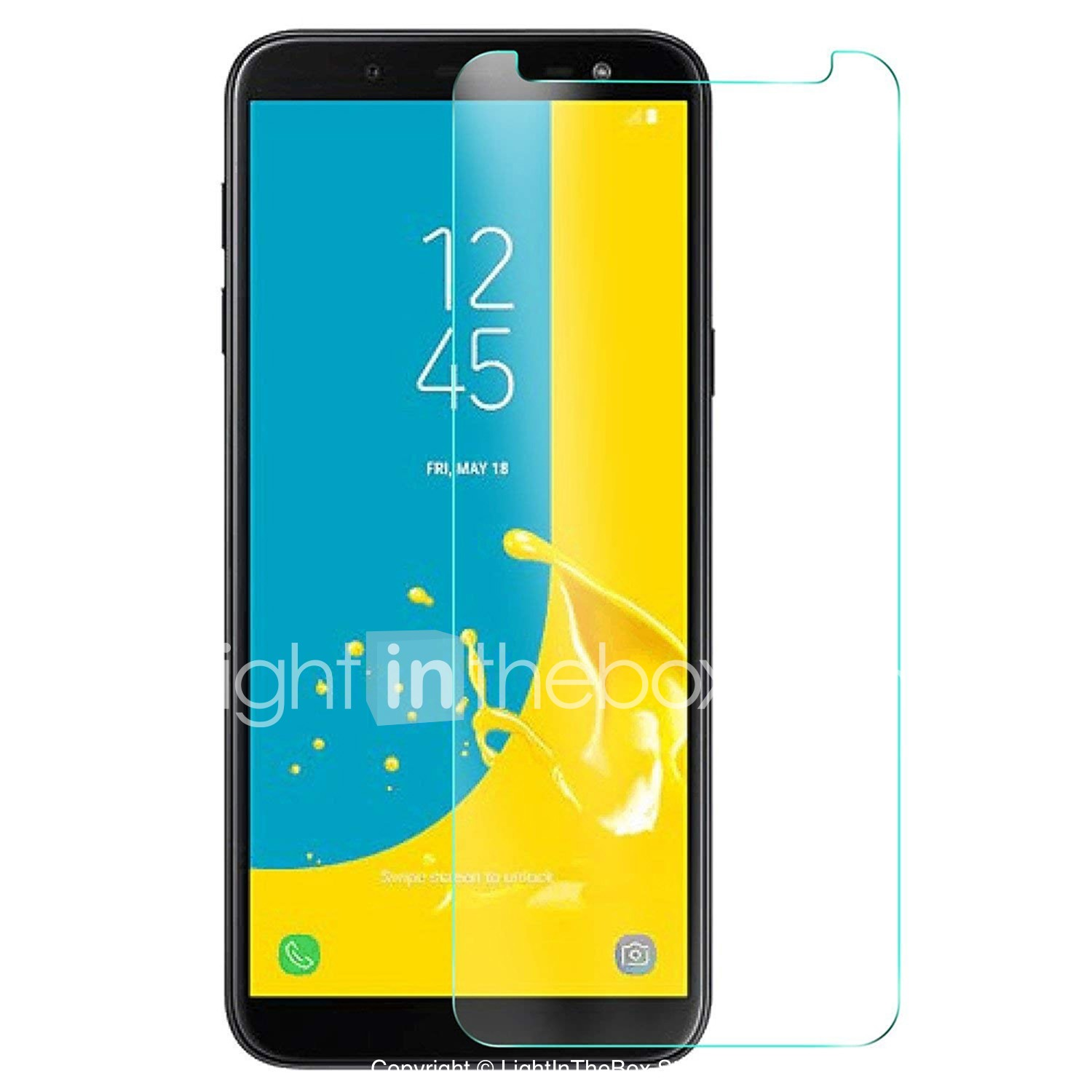 Samsung Galaxyscreen Protectorj6 High Definition Hd Front