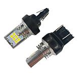 billiga -2st högkvalitativ konstant krets 15w 1200lm 7443 t20 led sväng signallampa volkswagen led sväng signallampa