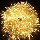 billiga -30m300leds festrängslampor lampa för xmas tree holiday bröllopsfest dekoration länkbar vit / blå / multicolor / varm vit 220-240v 1pc