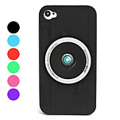 아이폰4/4S용 카메라 디자인 소프트 실리콘케이스