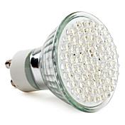390 lm GU10 LED-spotpærer MR16 78 leds Høyeffekts-LED Naturlig hvit AC 220-240V