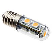 80lm E14 LED-kornpærer T 7 LED perler SMD 5050 Varm hvit 220-240V