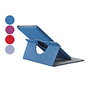 Etui Til iPad Mini 3/2/1 med stativ 360° rotasjon Heldekkende etui Helfarge PU Leather til iPad Mini 3/2/1