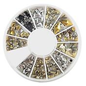 240 pcs Glimmer Nail Art Kit Negle Smykker Smuk Neglekunst Manikyr pedikyr Daglig Tegneserie / Mote / Akryl / Nail Smykker