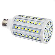 15W 6500lm E26 / E27 LED-kornpærer 86 LED perler SMD 5050 Naturlig hvit 110-130V 220-240V