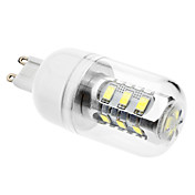 g9 led corn lights 15 smd 5630 620lm blanco natural 6500k ca 110-130 ca 220-240v