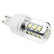 6500lm G9 LED-kornpærer 15 LED perler SMD 5630 Naturlig hvit 110-130V 220-240V