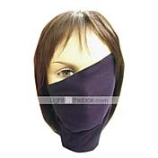 Máscara Inspirado por Naruto Hatake Kakashi Animé Accesorios de Cosplay Máscara Negro Poliéster Hombre