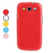 Para Funda Samsung Galaxy Other Funda Cubierta Trasera Funda Un Color TPU Samsung S3