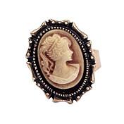 Dame Statement Ring - Kobber Vintage, Europeisk, Victoriansk Til Fest / Daglig / Avslappet