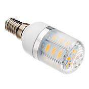3W E14 LED 콘 조명 T 24 LED가 SMD 5730 따뜻한 화이트 150-200lm 2500-3500K AC 220-240V