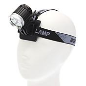 LED손전등 손전등 LED 3600 루멘 4.0 모드 Cree XM-L T6 용 캠핑/등산/동굴탐험 일상용 사이클링 사냥