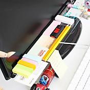 creative diy display rack de almacenamiento transparente para escuela / oficina