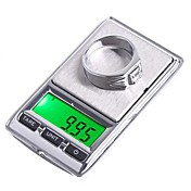 * 0.01g 0.1g 100g * 500g joyería del bolsillo Dual Mini Balanza Digital