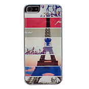 Torre Eiffel en varios tiempos Patrón Hard Case para el iPhone 5/5S Epoxi