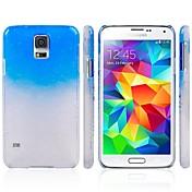Para Funda Samsung Galaxy Diseños Funda Cubierta Trasera Funda Gradiente de Color Policarbonato Samsung S5