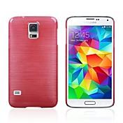 Para Funda Samsung Galaxy Other Funda Cubierta Trasera Funda Un Color Policarbonato Samsung S5