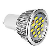 400 lm E14 GU10 GU5.3(MR16) E26/E27 Focos LED 15 leds SMD 5730 Regulable Blanco Cálido Blanco Fresco AC 220-240V