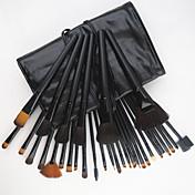 32pcs Makeup børster Profesjonell Børstesett Geitehår børste / Pony børste / Syntetisk hår Middels børste