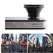 180 grados Lente Ojo de Pez para Samsung S3/S4/S5/N7000/N7100/N9000 Móviles / Celulares