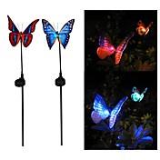 Luz de grama LED LED Recargable / Decorativa 2pcs
