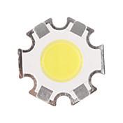 5w cob 450-500lm 6000-6500k kul hvit lys led chip (15-17v, 300ua)