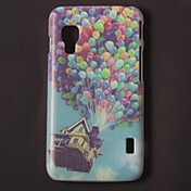 Colorful Balloons Pattern PC Hard Case with Black Frame for LG L5 ll