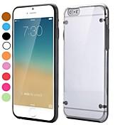 용 아이폰6케이스 / 아이폰6플러스 케이스 투명 케이스 뒷면 커버 케이스 단색 하드 TPU iPhone 6s Plus/6 Plus / iPhone 6s/6