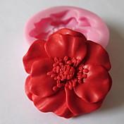 Molde para hornear Flor Chocolate Galleta Pastel Silicona Ecológica Manualidades día de San Valentín