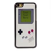 아이폰 5C를위한 개인화 된 선물 게임 콘솔 디자인 금속 케이스