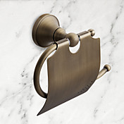 Soporte para Papel Higiénico Alta calidad Clásico Latón 1 pieza - Baño del hotel