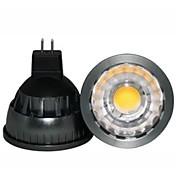 500 lm GU5.3(MR16) LED-spotpærer A60(A19) leds COB Mulighet for demping Dekorativ Varm hvit DC 12 V