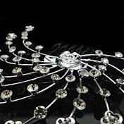 personalizadas magníficos diamantes de imitación / boda de imitación de novia peines
