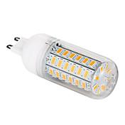 G9 LED-kornpærer T 56 leds SMD 5730 Varm hvit 1200lm 3000-3500K AC 220-240V