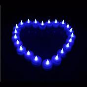 1pcs Coway llevaron velas bule fiesta ligera decoración de la boda de suministro en forma
