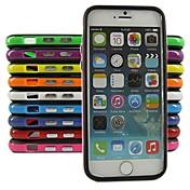 아이폰 6 / 6s (모듬 된 색상) 아이폰 케이스에 대 한 실리콘 범퍼 프레임 케이스