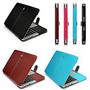"""coosbo® funda inteligente de negocios pu cuero suave cubierta de la caja de la manga de 13 """"15"""" MacBook Pro (color surtidos)"""