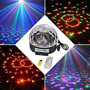 18w rgb led mp3 etapa luz mágica bola de cristal eu (ac100-240v)