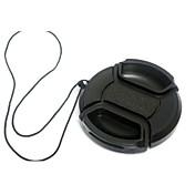 dengpin® 40.5mm tapa de la lente de la cámara para Sony NEX-5R nex-5t nex-3n A6000 A5100 A5000 con 16-50mm lente + una cuerda titular correa