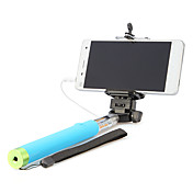 selfprotrait selfie 스틱 핸드폰 범용 액세서리에 대 한 유선 핸드 헬드 monopod