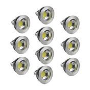 5W GU5.3(MR16) LED-spotpærer 1 COB 400-450 lm Varm hvit / Kjølig hvit / Naturlig hvit Dimbar DC 12 V 10 stk.