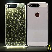 Para Funda iPhone 6 Funda iPhone 6 Plus Carcasa Funda LED Diseños Cubierta Trasera Funda Diseño Geométrico Suave Policarbonato paraiPhone