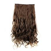 Clip Sintético Extensiones de cabello La extensión del pelo