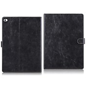Etui Til Apple iPad Air 2 Fullbody Etuier Ensfarget Hard PU Leather til Apple