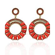 Women's Fashion  Vintage  Circle Diamante Earrings(More Colors)