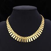 Mujer Joyas Joyería Destacada Gargantillas Collar Collares Vintage Chapado en Plata Chapado en Oro Gargantillas Collar Collares Vintage ,