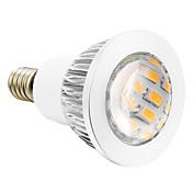 280 lm E14 Focos LED 16 leds SMD 5730 Blanco Cálido AC 110-130V