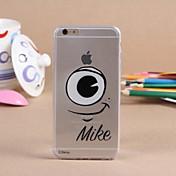 Para Funda iPhone 6 / Funda iPhone 6 Plus Transparente Funda Cubierta Trasera Funda Dibujos Suave TPU iPhone 6s Plus/6 Plus / iPhone 6s/6